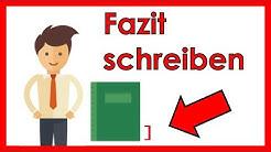 Fazit schreiben für deine Hausarbeit/Bachelorarbeit - 7 GRUNDREGELN