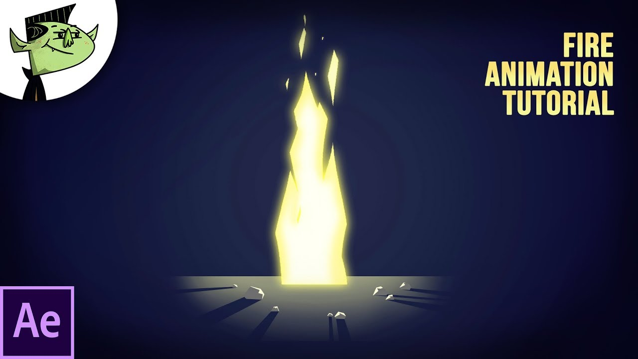Easy Fire Animation in After Effects - Tutorial