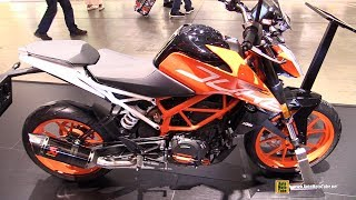 2018 KTM 390 Duke - Walkaround - 2017 EICMA Milan Motorcycle Exhibition