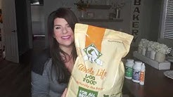 TLC Natural Dog Food review and NuVet Plus dog supplements