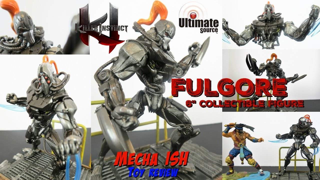 "Fulgore Killer Instinct Series 1 6/"" Collectible Figure"