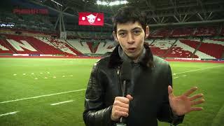 Атмосфера зимнего футбола