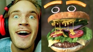 FaceRig - What If You Were A Hamburger? - Part 1