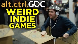 Nick Plays with Weird Controllers @ alt.ctrl.GDC Video