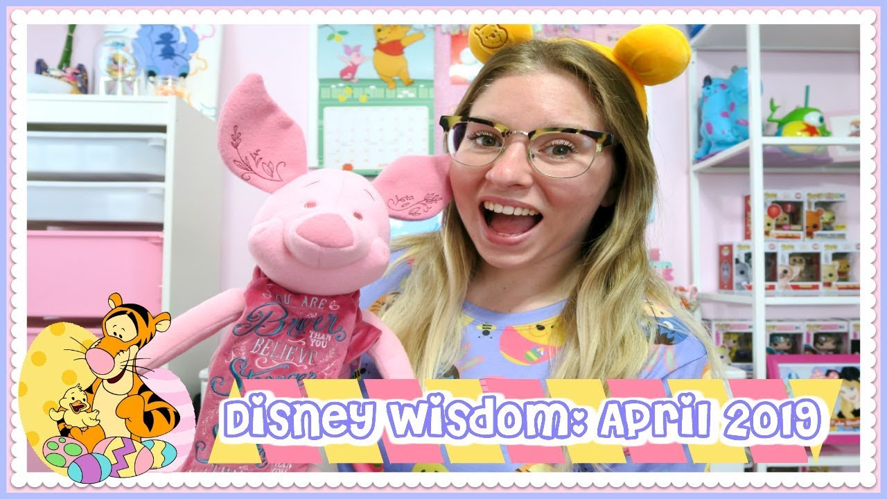 DISNEY WISDOM COLLECTION HAUL & NEW AT THE DISNEY STORE | APRIL 2019 ♡