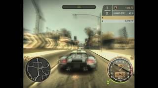 NFS MW Porschecarrera GT vs Razor 3BMW M  sprint # 3