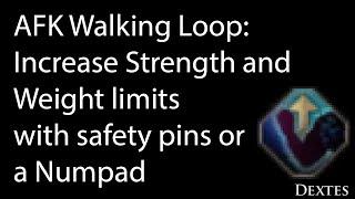 Auto Walking Loop: AFK Increase Strength Training or Breath - Black Desert Online