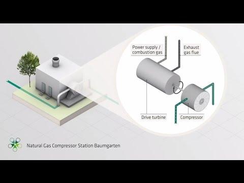 Natural Gas Compressor Station Baumgarten