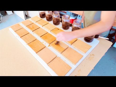 How to Make COFFEE Wood Stain // The Ultimate Guide