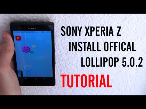 Sony Xperia Z How To Install Official 5.0.2 Lollipop