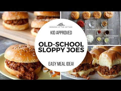 Awesome OLD-SCHOOL SLOPPY JOES | Homemade, Easy, Tasty!