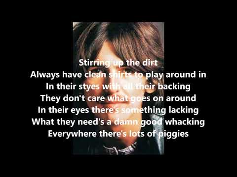 Piggies With Lyrics