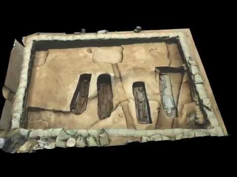 Jamestown Chancel Burial 3D Render Flythrough