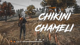 CHIKNI CHAMELI - BEST BEAT SYNC MONTAGE || free fire
