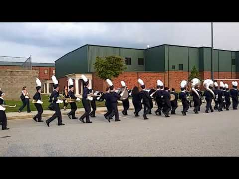 East Jackson High School Marching Band 2016 Blue Pride