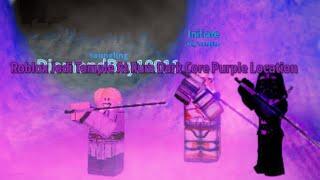 Roblox Jedi Temple At Ilum Dark Core Purple Crystal Location!!