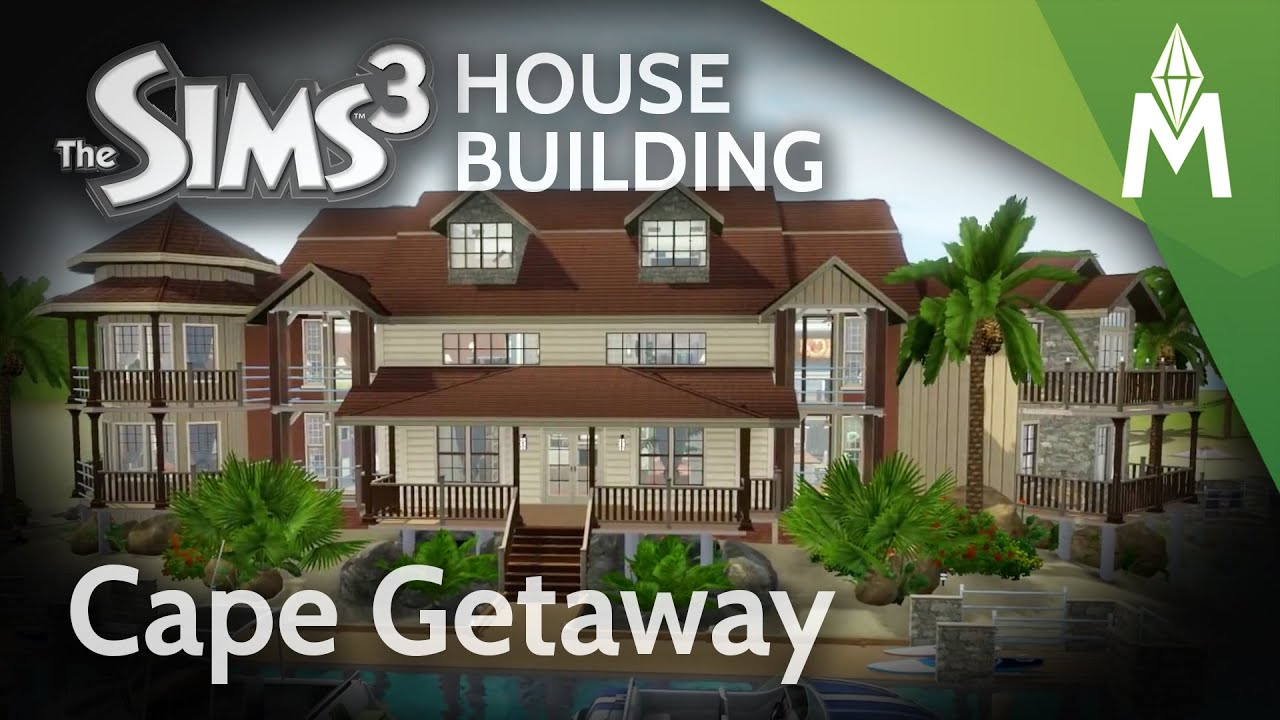 The Sims 3 House Building Cape Getaway