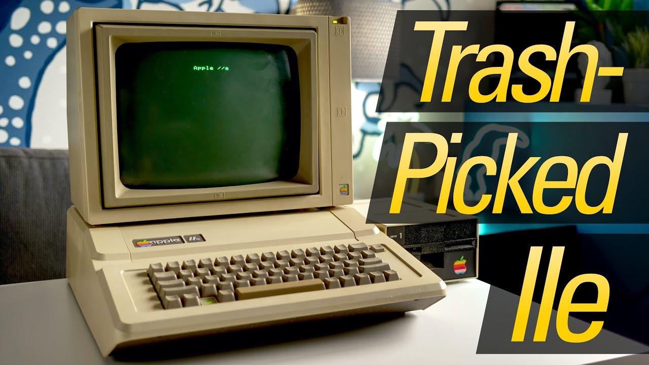 Restoring an Apple IIe Left for Scrap!