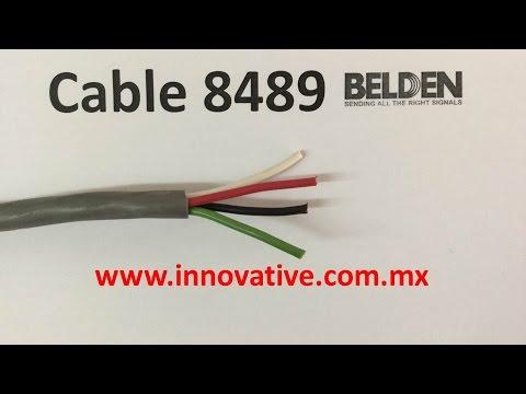 Cable 8489 Belden