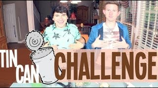 Tin Can Challenge | Jc Caylen + Ricky Dillon Thumbnail