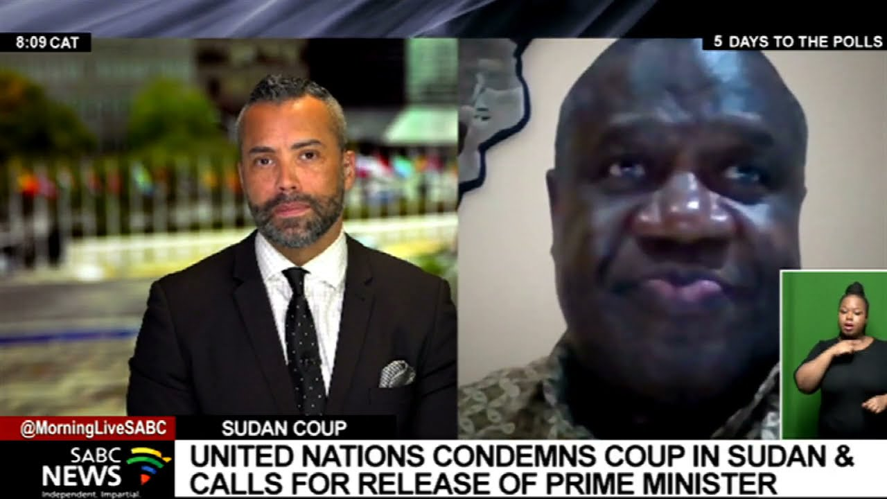 Download United Nations condemns coup in Sudan and calls for release of Prime Minister