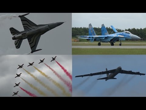4K | 25 Minutes of Pure Airshow Action | Highlights Danish Airshow 2016