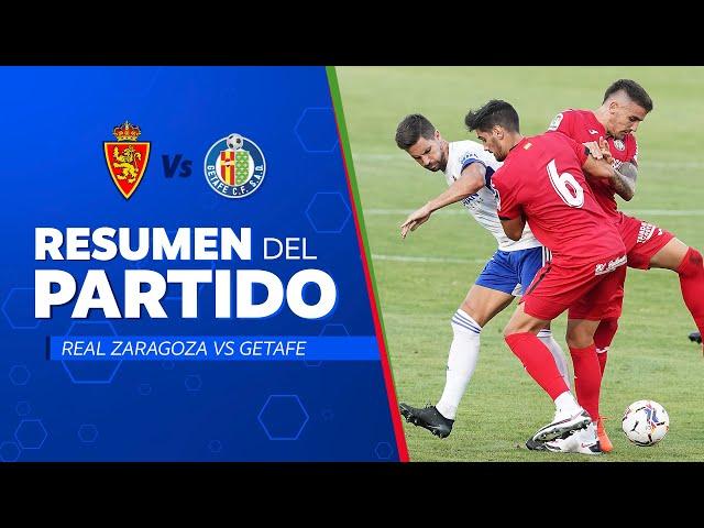 AMISTOSO   Real Zaragoza 0-2 Getafe CF