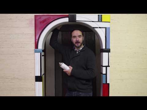 Межкомнатная арка из МДФ: как покрасить?
