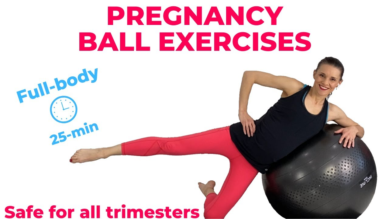 Pregnancy Ball Exercises Youtube
