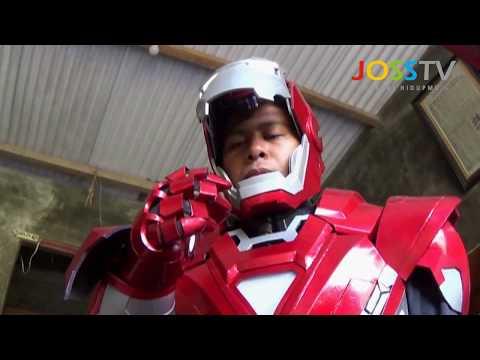 Proses Pembuatan Cosplay Iron Man Dan Transformer Keren