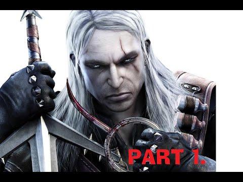 Zaklínač 1 Part 1 by kury Geralt se učí řezníkem
