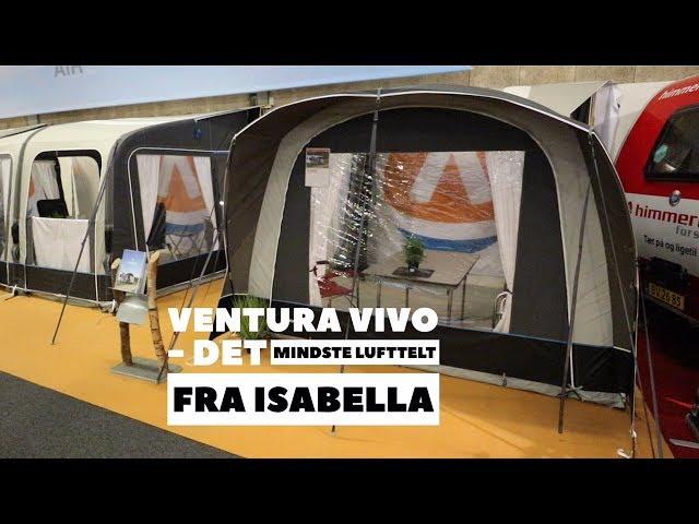 Ventura Vivo lufttelt til campingvogn og autocamper