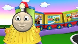 Choo Choo Factory Cartoon Train for Children | Cartoon For Kids