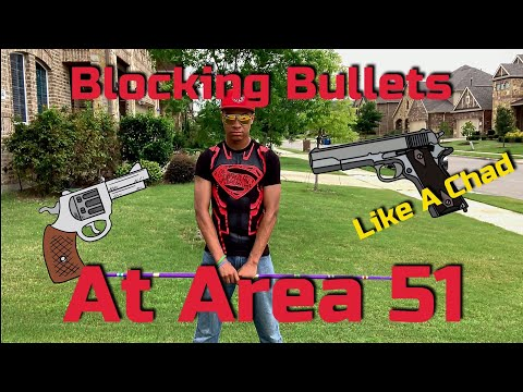 Chads can Block Bullets at Area 51 Raid | Martial Arts Tutorial thumbnail