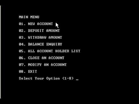 C++ Banking System Project