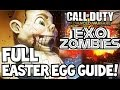 """Exo Zombies Ending """"FULL EASTER EGG TUTORIAL"""" How to Beat Infection Burgertown SOLO Guide - CoD AW"""