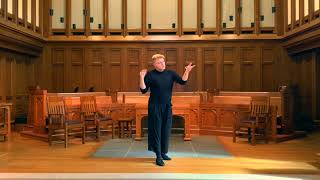 I know a bank-James M. Brown, countertenor