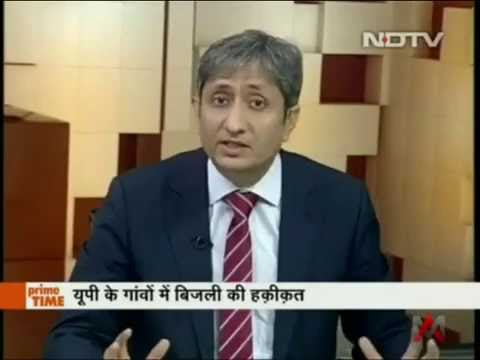 Ravish Kumar | BJP Minister Piyush Goyal Caught Lying on Supply of Electricity in Up Villages
