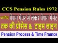 Pension Process Map & Time Frame जानिए पूरी प्रोसेस CCS Pension Rules के अनुसार #Govt Employees News