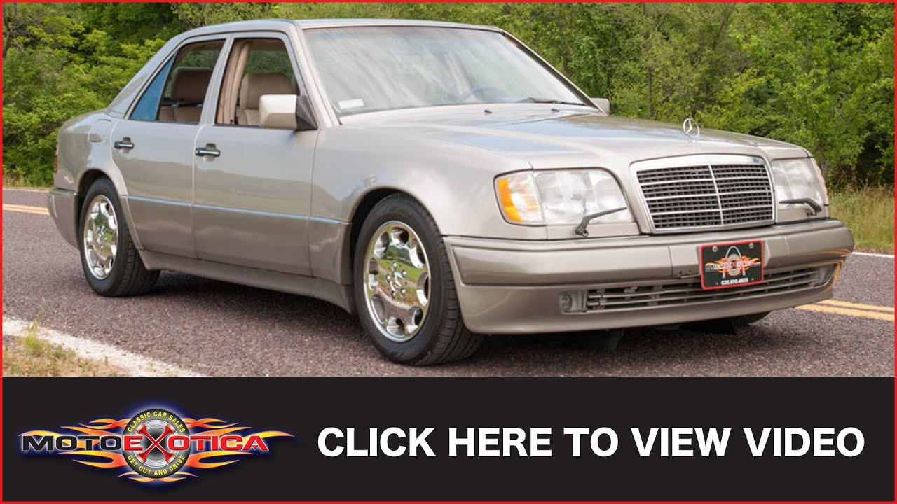 1994 mercedes benz e500 sold