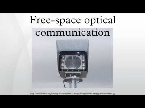Free-space optical communication