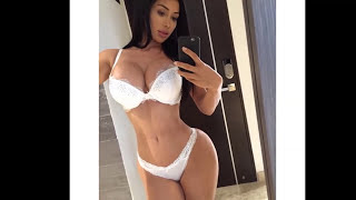 Repeat youtube video Joselyn Cano - Sexy Lingerie, Bikini Model - Gym Workout Routines
