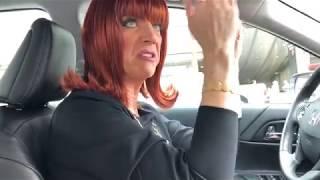Miss Coco Peru Drives a Friend Home