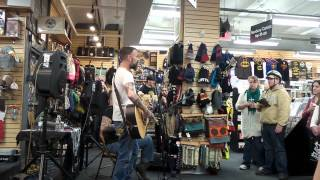 Lucero - She Wakes When She Dreams (live @ Newbury Comics Harvard Square 11/9/14))