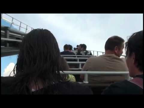Olandese Volante Vekoma Mine Train Roller Coaster Rainbow Magicland Theme Park Italy Onride