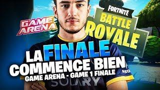 LA FINALE COMMENCE BIEN POUR SOLARY - GAME ARENA - GAME 1 FINALE