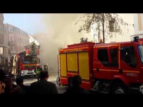 MULHOUSE Incendie rue du Sauvage :  un tabac détruit