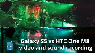 Samsung Galaxy S5 vs HTC One M8: video and sound recording comparison