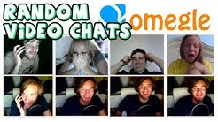SURPRISING FANS ON OMEGLE VIDEO CHAT! :D - Omegle (Special Video Upload.)