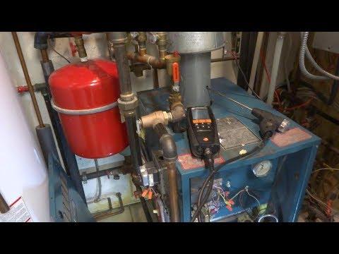 gas boiler service high carbon monoxide levels